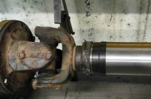 Изменение длины кардана