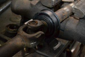 замена подшипника кардана